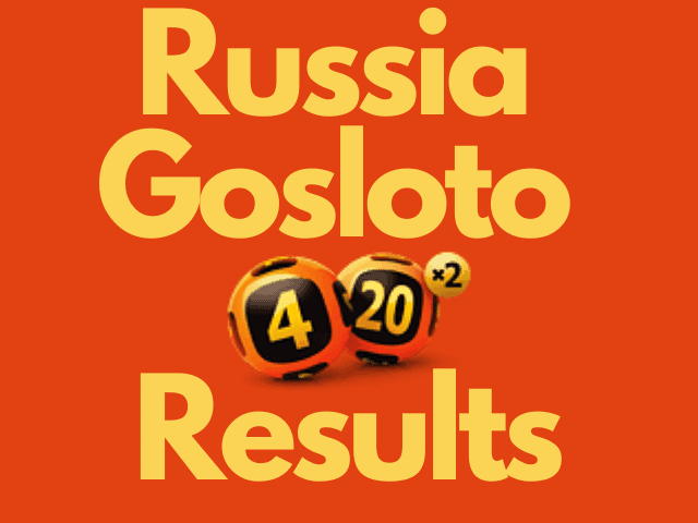 Russia Gosloto 4/20 Results Wednesday 20 October 2021