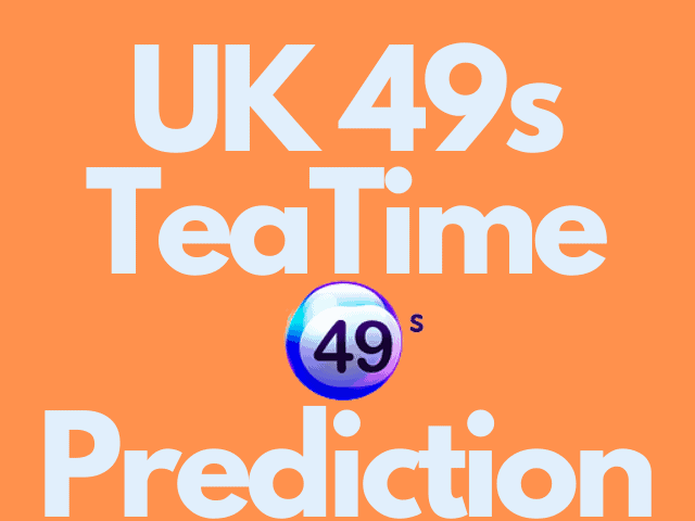 TeaTime Predictions For Today; Wednesday 20 October 2021
